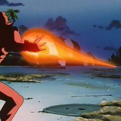 Су Шинрон атакует Гоку