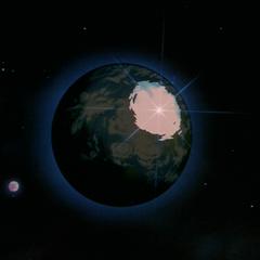 Энергия Сверх Ультра Генки Дамы рассеивает негативную энергию над Землёй (2)