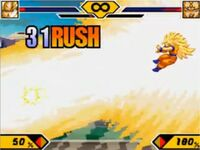 Goku super saiyan 3 in ssw2