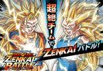 Zenkai super saiyans 3 drawning art