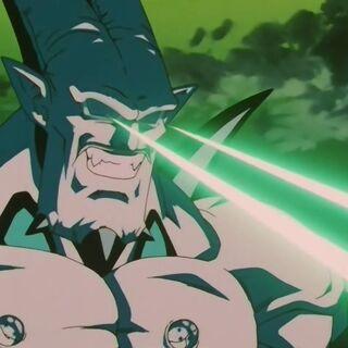 Супер Йи Шинрон атакует Супер Сайяна 4 Гоку Рейто Косеном