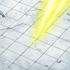 Фрост уклоняется от атаки Пикколо