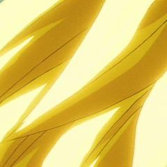 Волосы Супер Сайяна 3 освещает аура