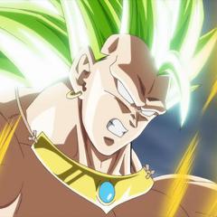 Лицо Легендарного Супер Сайяна 3 Броли (спэшл-муви к восьмой миссии, <i>Dragon Ball Heroes</i>)