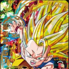 Карточка Супер Сайяна 3 Гоку (GT) в