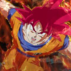 Трансформация в Супер Сайяна Бога отменяется, исчезает аура, цвет волос и глаз тускнеет, возвращаясь к изначальному