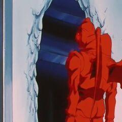 Стена расплавлена тепловой бронёй Су Шинрона