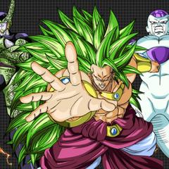 Рекламное изображение Легендарного Супер Сайяна 3 Броли (<i>Dragon Ball Heroes</i>)