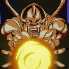 Су Шинрон заряжает огненную атаку