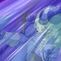 Фрост атакует Супер Сайяна Гоку