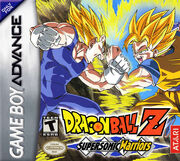 GBA Dragon Ball Z Supersonic Warriors front cover