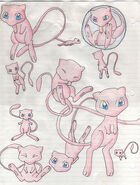 Mew from pokemon by cloud strife 1