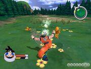 Goku Saibamen Sagas