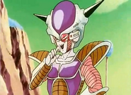 Frieza laughing