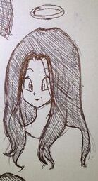 Dbz videl s mother design concepts by artycomi-1