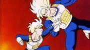 Goku and Gohan training