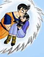 Future Gohan and Future Videl