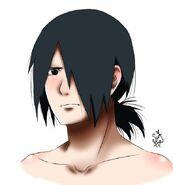 Sasuke s ponytail by sunheeart-dbieo2m