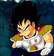 Vegeta as a child