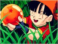 Pan found Three-Star Dragon Ball