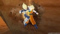 Vegeta traps Goku, Raging Blast