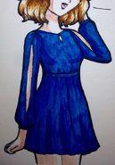 Amelia's Majin Buu Saga outfit