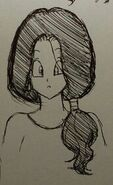 Dbz videl s mother design concepts by artycomi-5