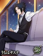 Sasuke Uchiha Winter Card 2