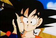 Chi chi kissing goku