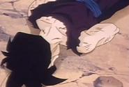 Teen gohan fells to ground dead 2