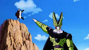 Mr satan beat up by cell