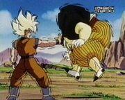 Goku vs android 19