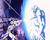Goku kamehehameha to broly