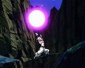 Buu about to use vanishing ball