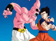 Super buu getting beat by ultimate gohan
