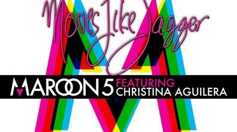 Moves Like Jagger - Maroon 5 featuring Christina Aguilera