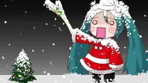 White Christmas By Hatsune Miku