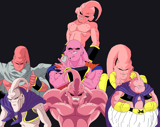 Forms of Buu