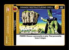 U092 - Orange Restructuring Drill