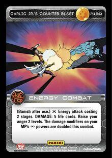 R130 - Garlic Jr.'s Counter Blast