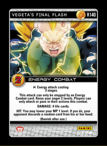 R140 - Vegeta's Final Flash