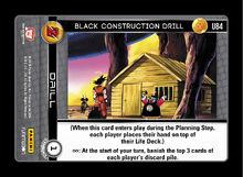 U084 - Black Constructing Drill