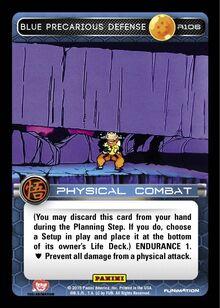R106 - Blue Precarious Defense
