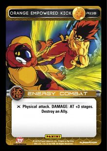 R116 - Orange Empowered Kick
