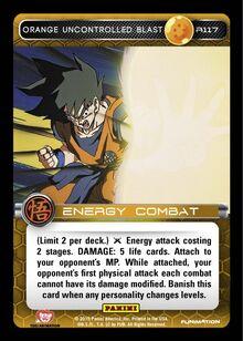 R117 - Orange Uncontrolled Blast