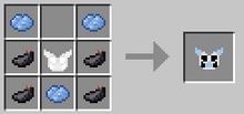 Light blue armor torso