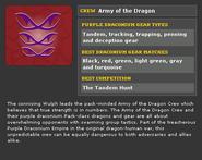 Army Crew Info