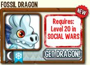 Fossil Dragon Requirements Socila Wars