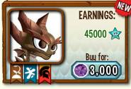 Quake dragon in store