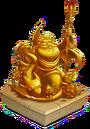 Deus Statue